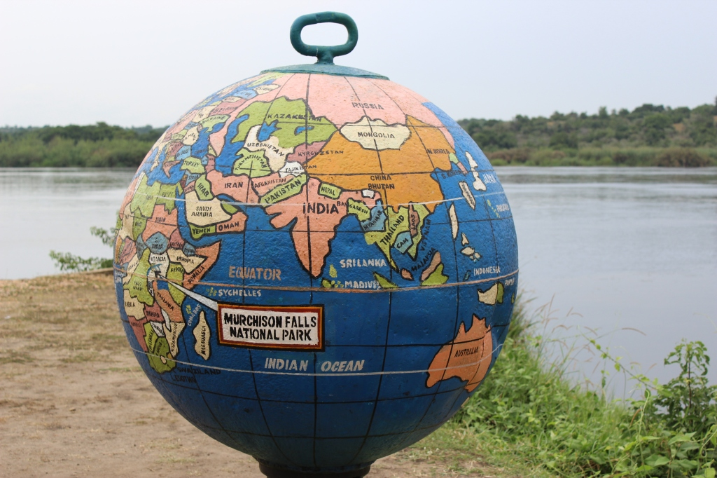 Globe in Murchison Falls National Park
