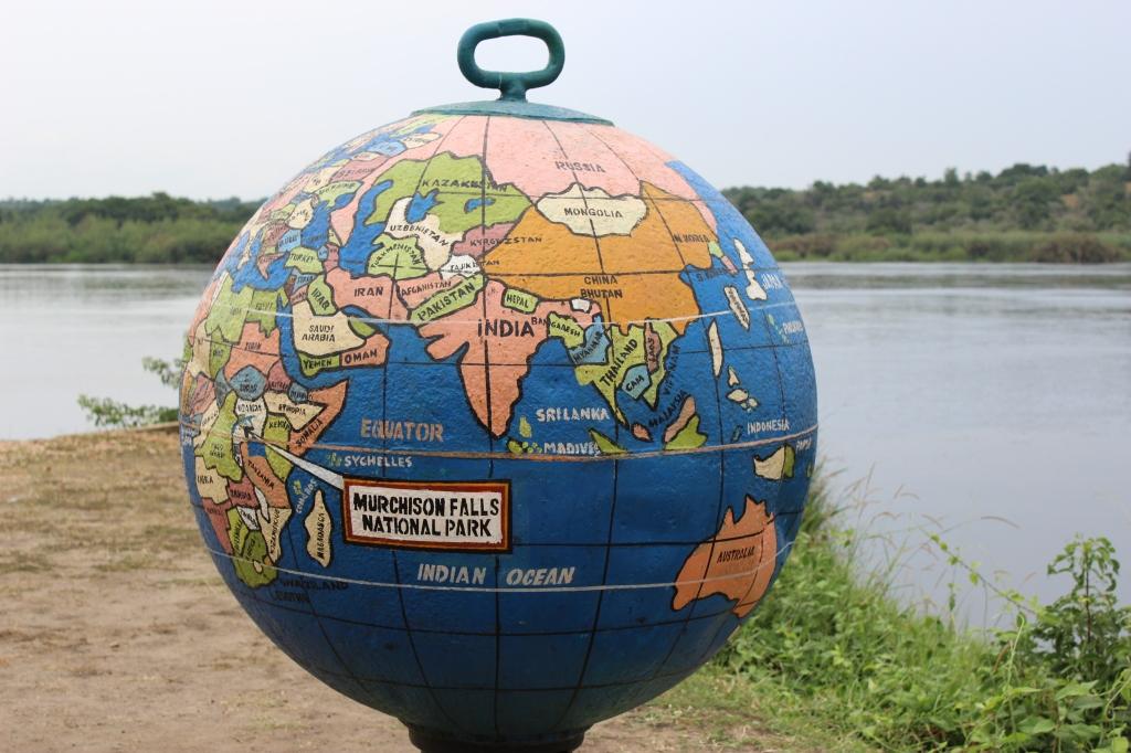 Globe in Murchison Falls National Park