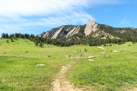 Boulder's Famous Flatirons
