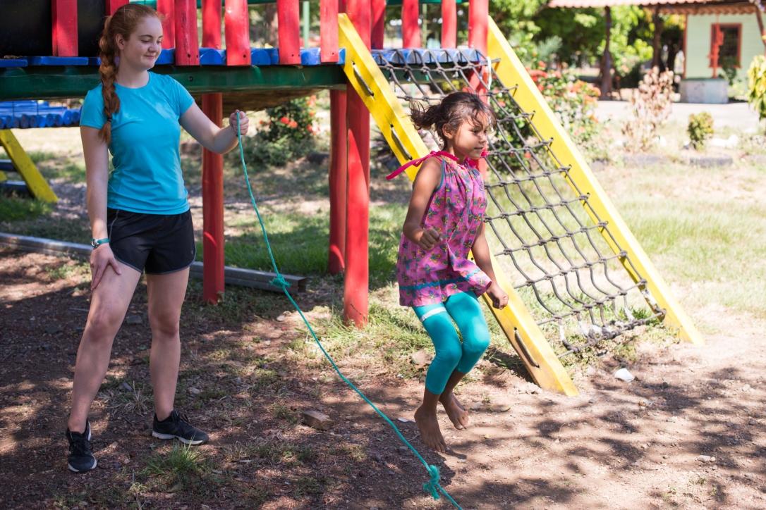 Costa Rica Jump Rope at camp